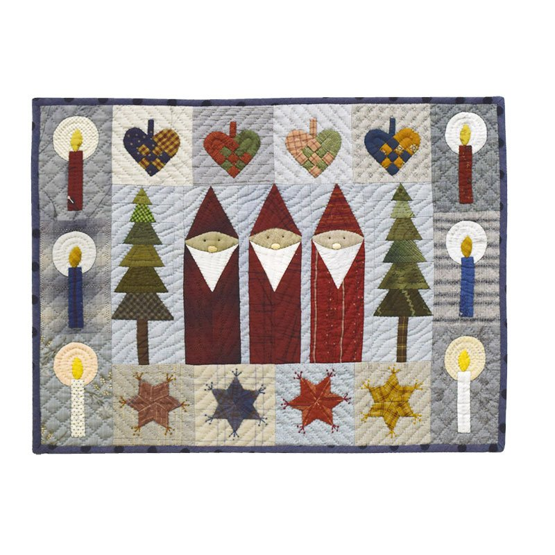 Yoko Saito Winter Wall Hanging Kit - A Festive Holiday Project YSK22423