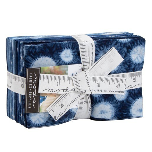 Moda Shimo Shibori Collection by Debbie Maddy Fat Eight Bundle 48050F8