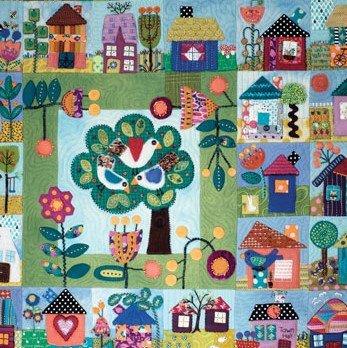 Sue Spargo Pattern Book Homegrown Quilt BK-238