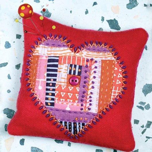 Sue Spargo - Kit Heartthrob Pincushion - KT_4657