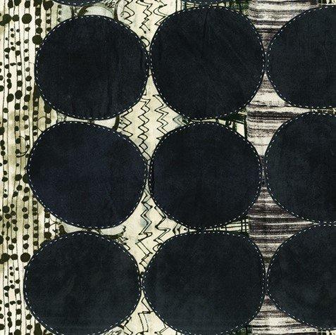 Windham - Curiosity by Marcia Derse - 51954D-1 Circles Black