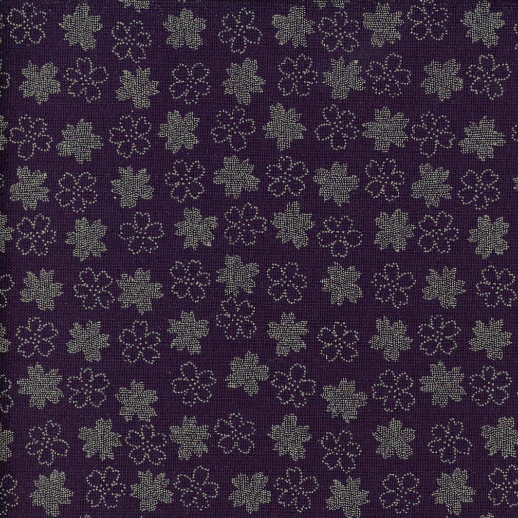 Small Cherry Blossoms Indigo Tone on Tone AP1310-47