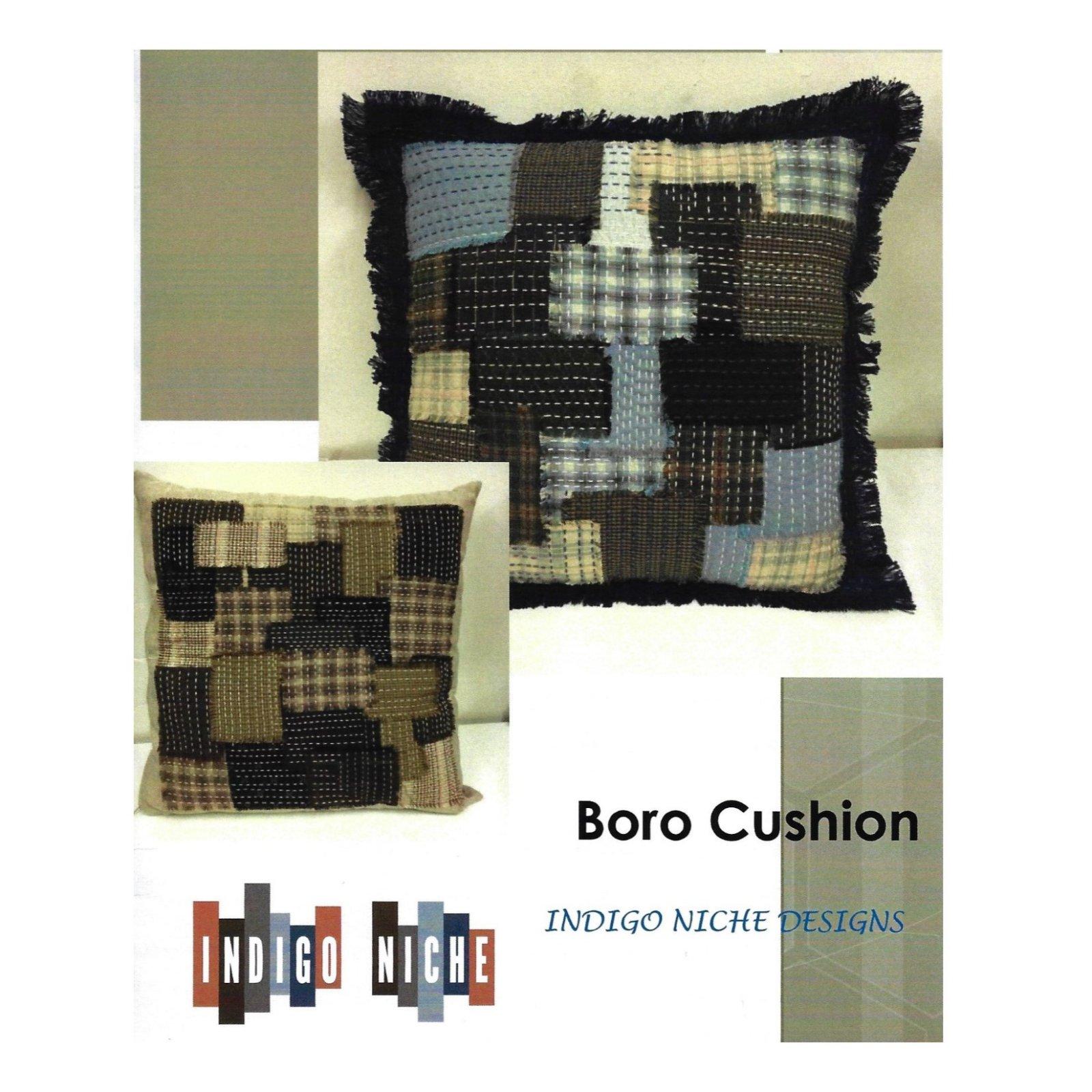 Boro Cushion Pattern from Indigo Niche