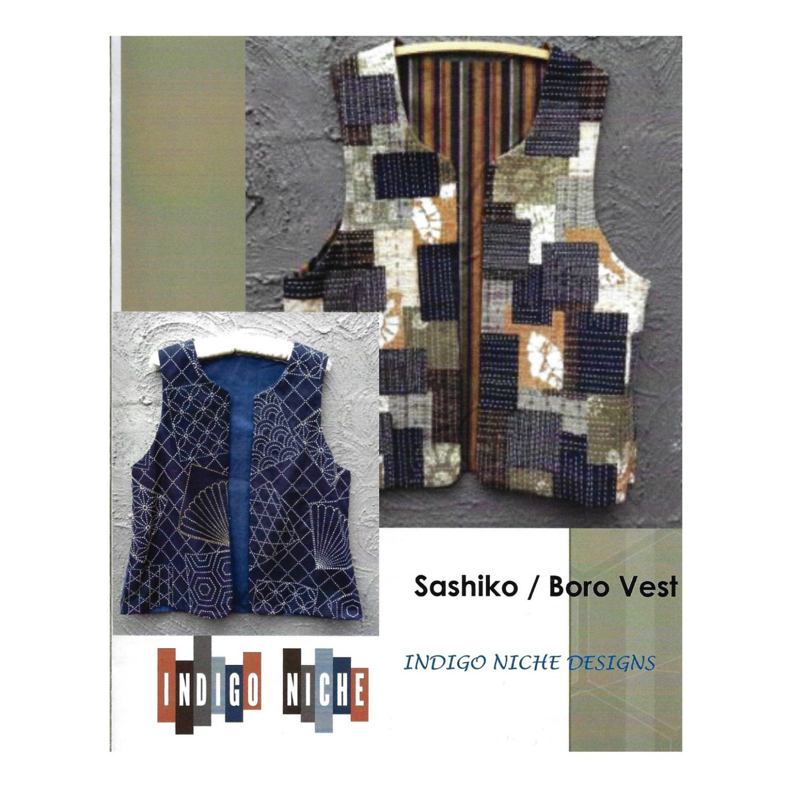 Boro Vest Pattern from Indigo Niche