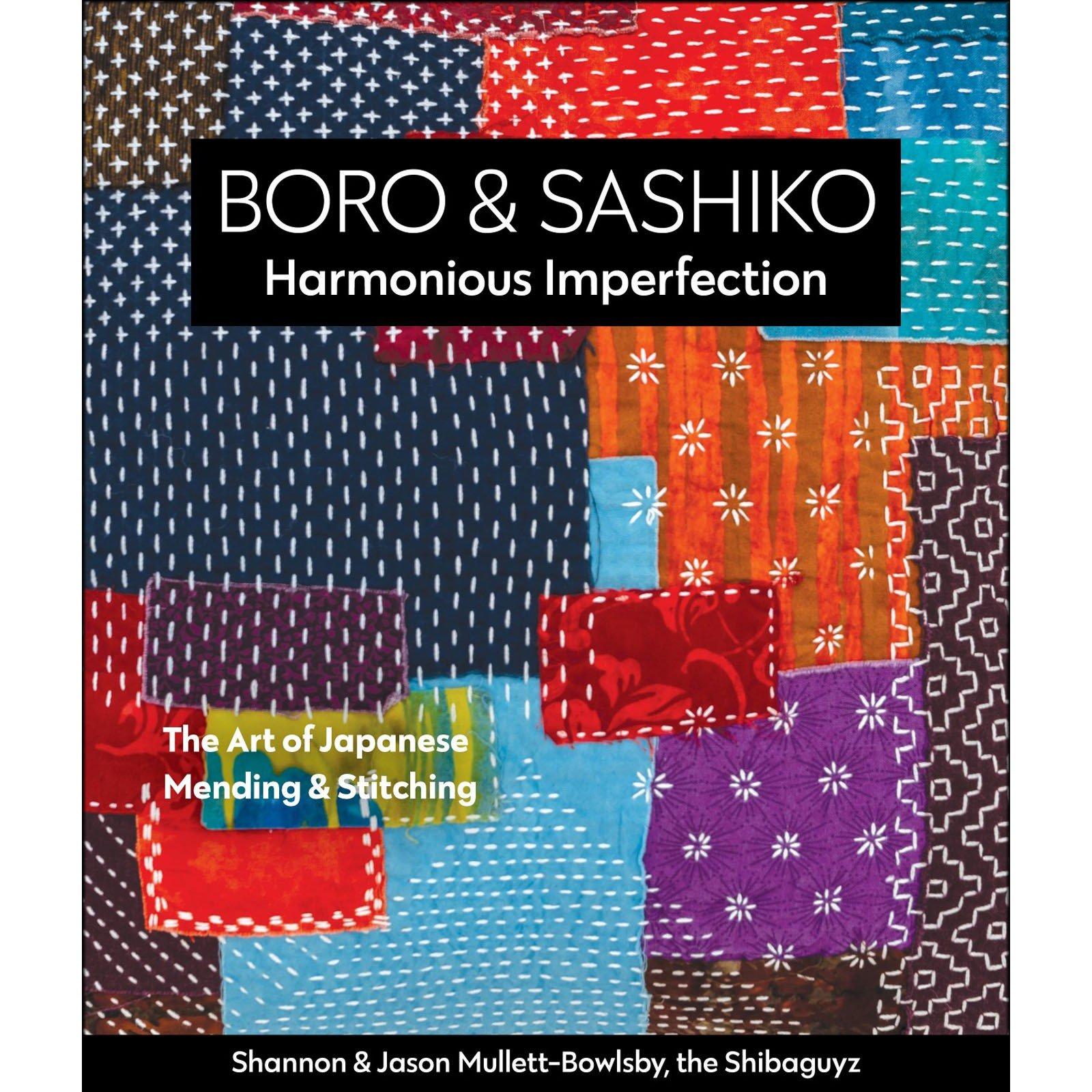 Shannon & Jason Mullett-Bowlsby - Boro & Sashiko - Book 11379