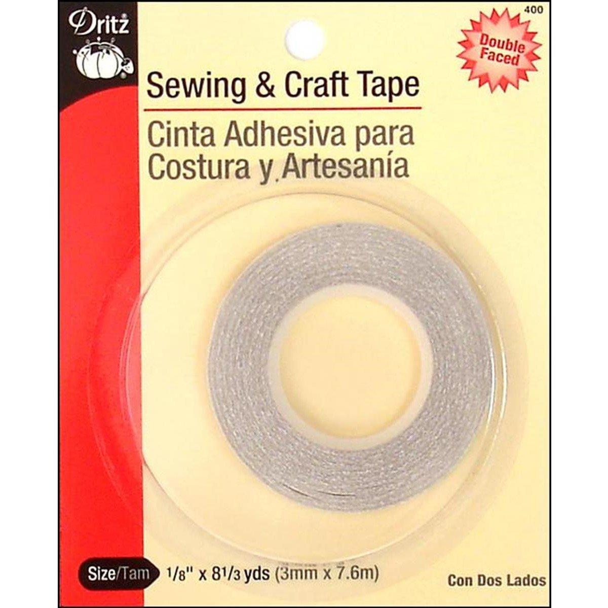 Dritz - Doube Faces Basting Tape - 0.125in x 8.375yds - DRI400
