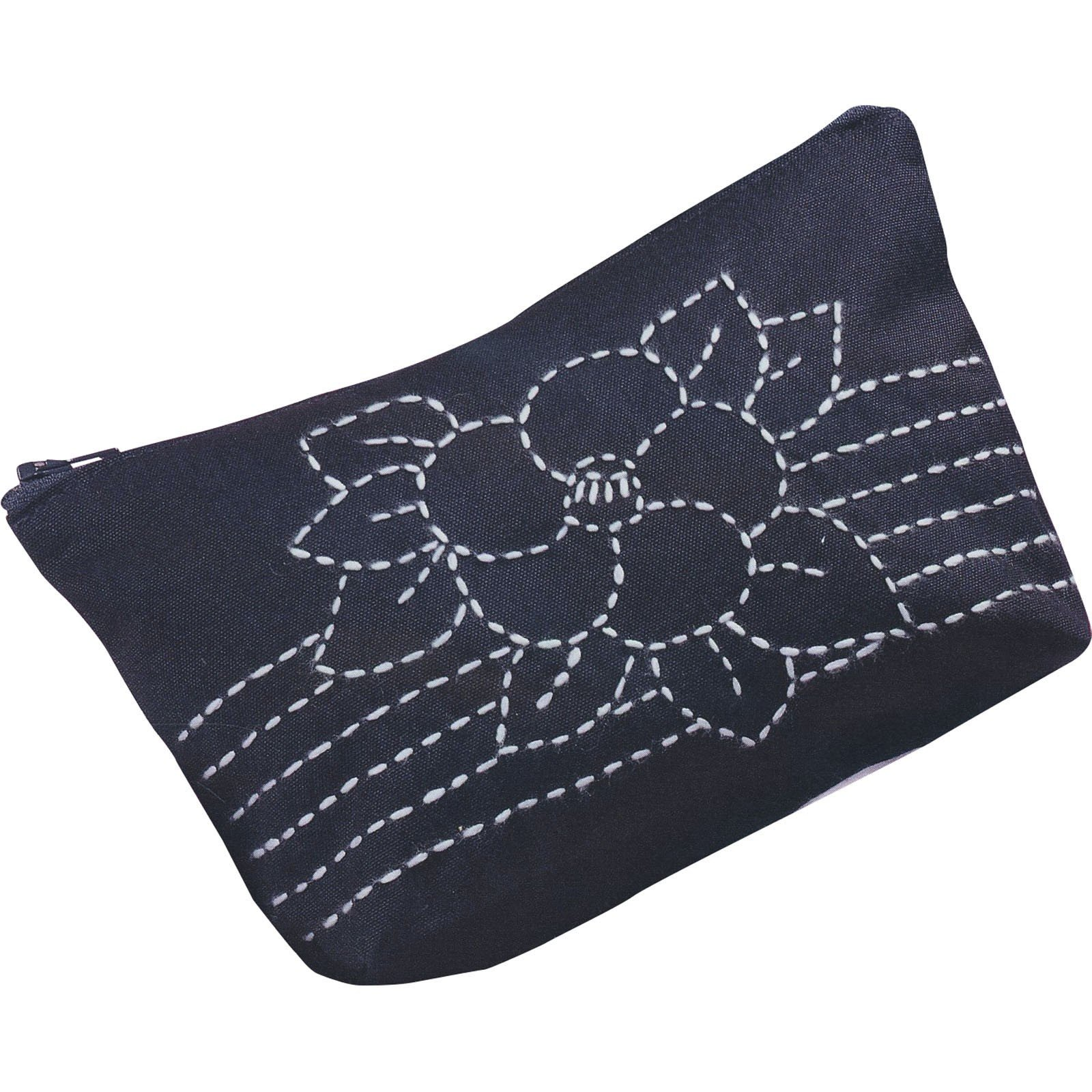 Olympus Sashiko Kit Cameilla Bloom Pre-Made Pouch SK-100