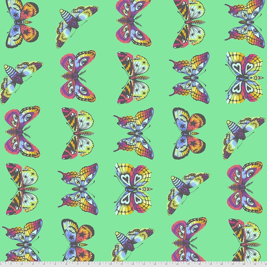 Pre-Order Tula Pink - Daydreamer - Butterfly Hugs - PWTP171.LAGOON