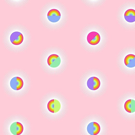 Pre-Order Tula Pink - Daydreamer - 108in Saturdaze - QBTP007.GUAVA