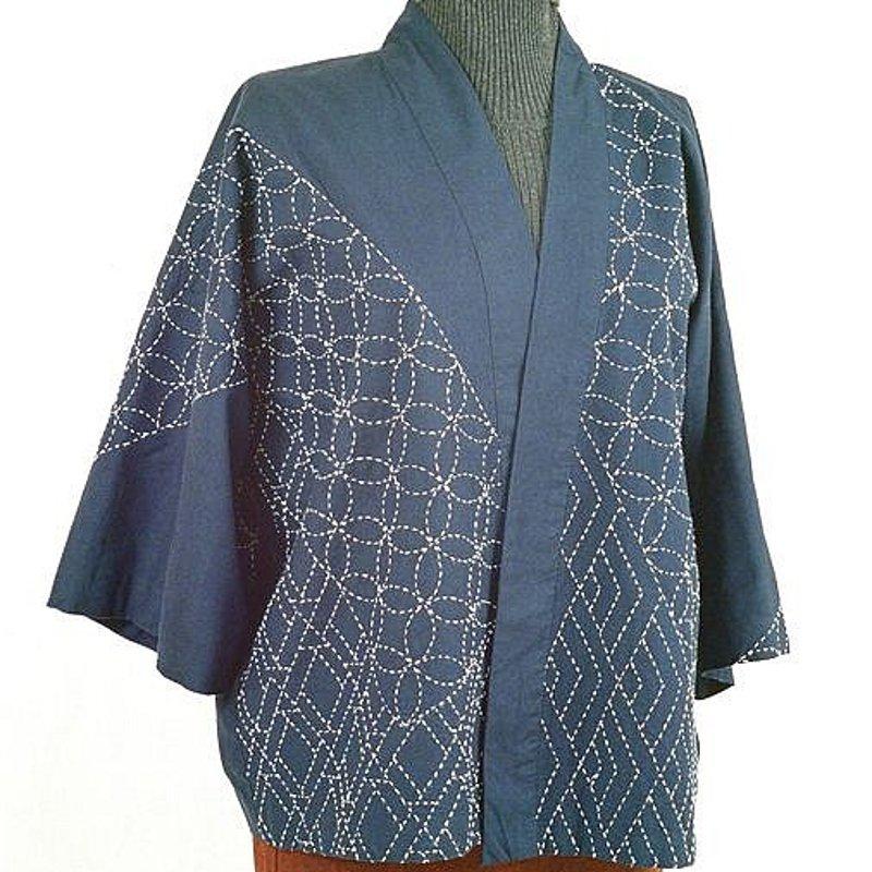 Pattern Sashiko Hippari Jacket by Alderspring Design