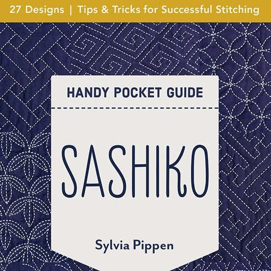 Book Sashiko Handy Pocket Guide by Sylvia Pippen 20446