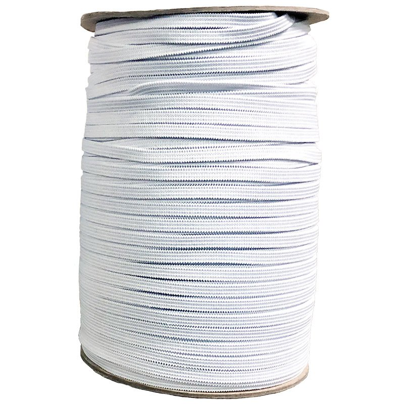 1/4 Soft Elastic in White & Black & Colors - Bulk - Sold by the Yard