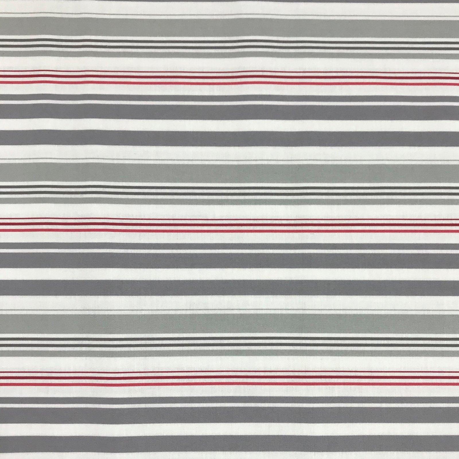 Clothworks - Quarter Deck -  Medium Stripe - Lt Khaki Y2363