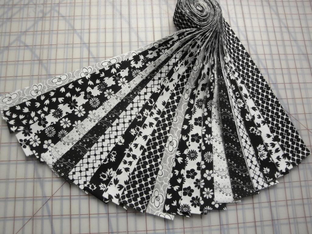 Honey Bun-Black & White Prints by Choice Fabrics