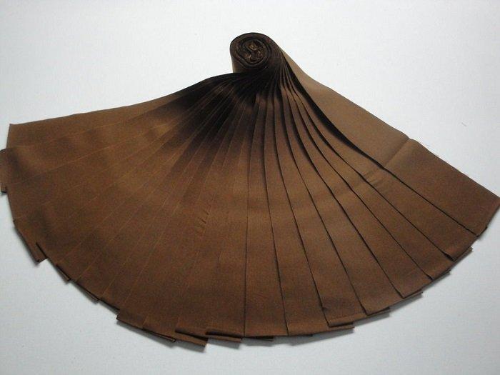 Jelly Roll-Brown Kona Cotton by Robert Kaufman