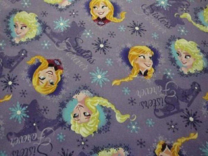 Disney's Frozen Sisters Ice Skating-Purple B/G-Springs Creative-BTY