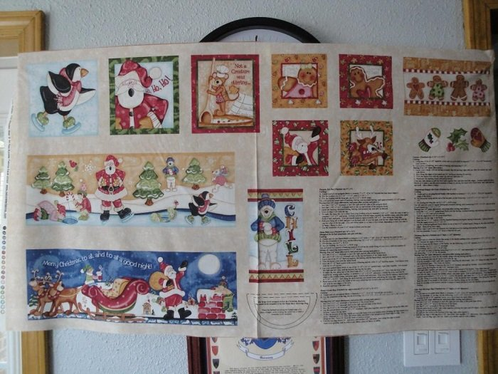 Hugs & Holly Crafts Panel by Red Rooster