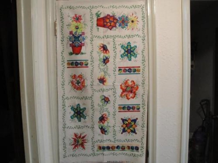 Ibiza Colorful Floral Panel by Blank Quilting