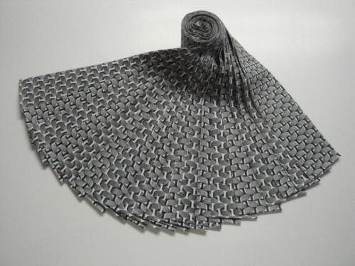 Jelly Roll-Black Rippling Ribbons by Choice Fabrics
