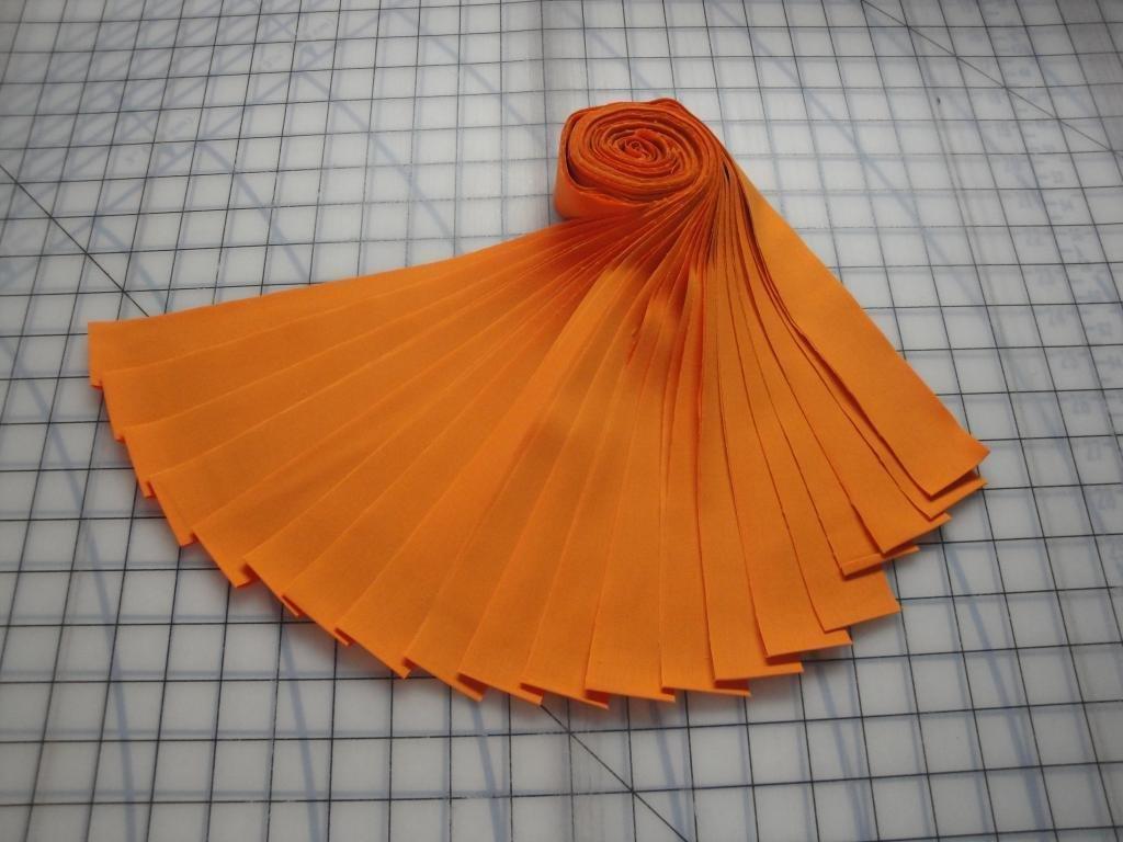 Honey Bun-Orange Kona Cotton by Robert Kaufman