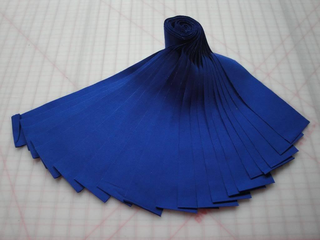 Jelly Roll-Deep Blue Kona Cotton by Robert Kaufman