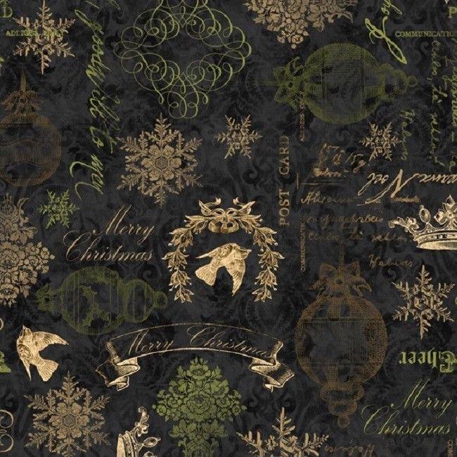 Christmas in Bloom-Wilmington Prints-BTY