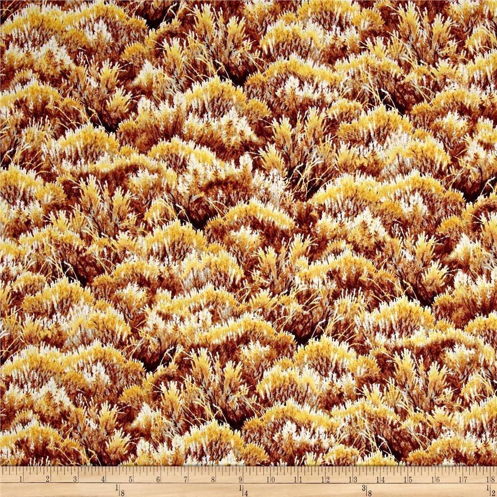 Mountain Elk Brush-Quilting Treasures-Fat Quarter