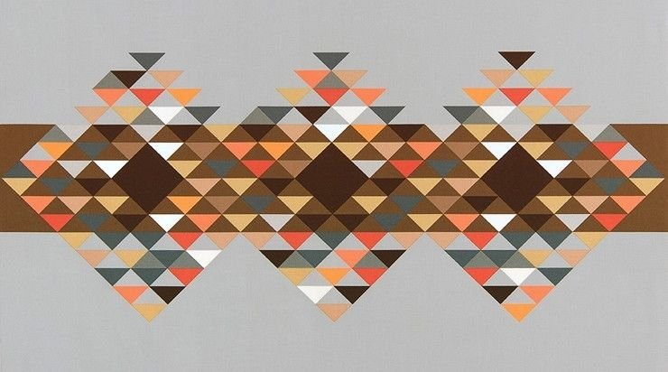 Fragmental Novelty Print Panel by Robert Kaufman
