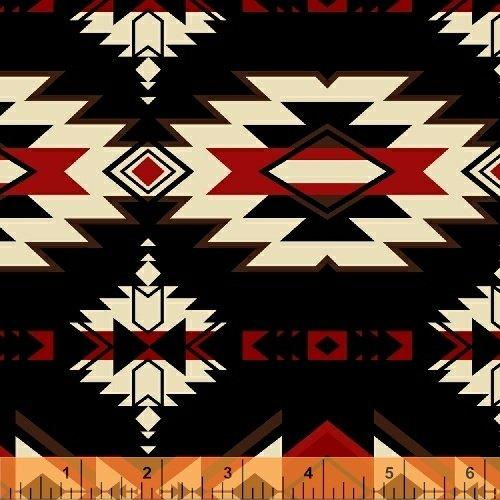 Mesa Southwest Print black red whtie Windham