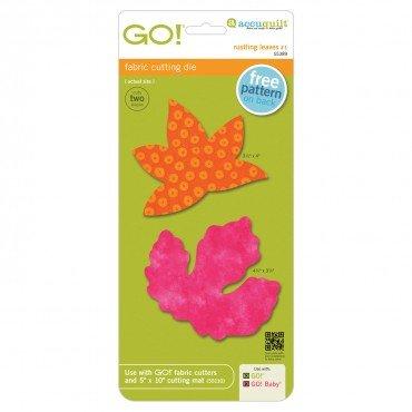 AccuQuilt GO!Rustling Leaves 1 GO! Rustling Leaves #1, Sweetgum & Poplar, Large