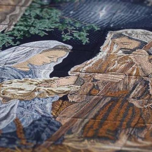 O Holy Night Tiling Scene