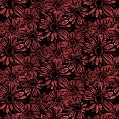 Florella Black/Rose Daisies