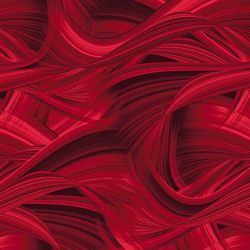 9537-88 Sedona Wave 108 Inch by Blank Quilting Red