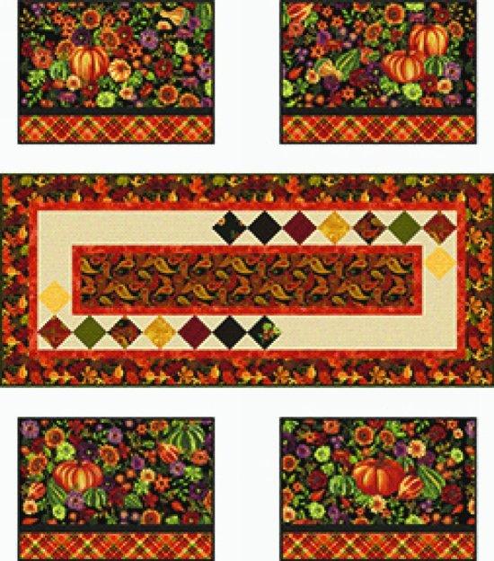 Autumn Abundance Table Set Kit