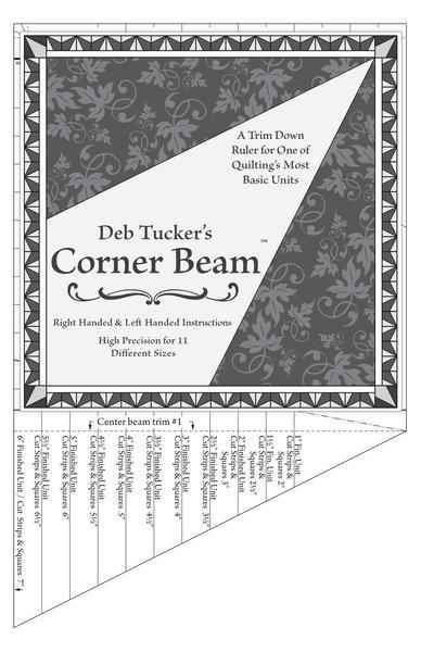 Corner Beam Ruler Deb Tucker's