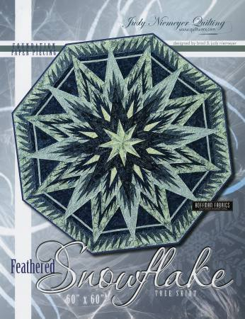 Feathered Snowflake KIT Tree Skirt