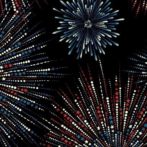 Fireworks Shimmer Black