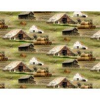 Greener Pastures Barn Scene by Wilmington