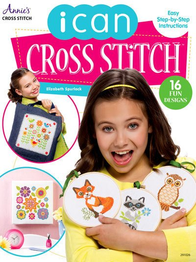 I Can Cross Stitch - Softcover