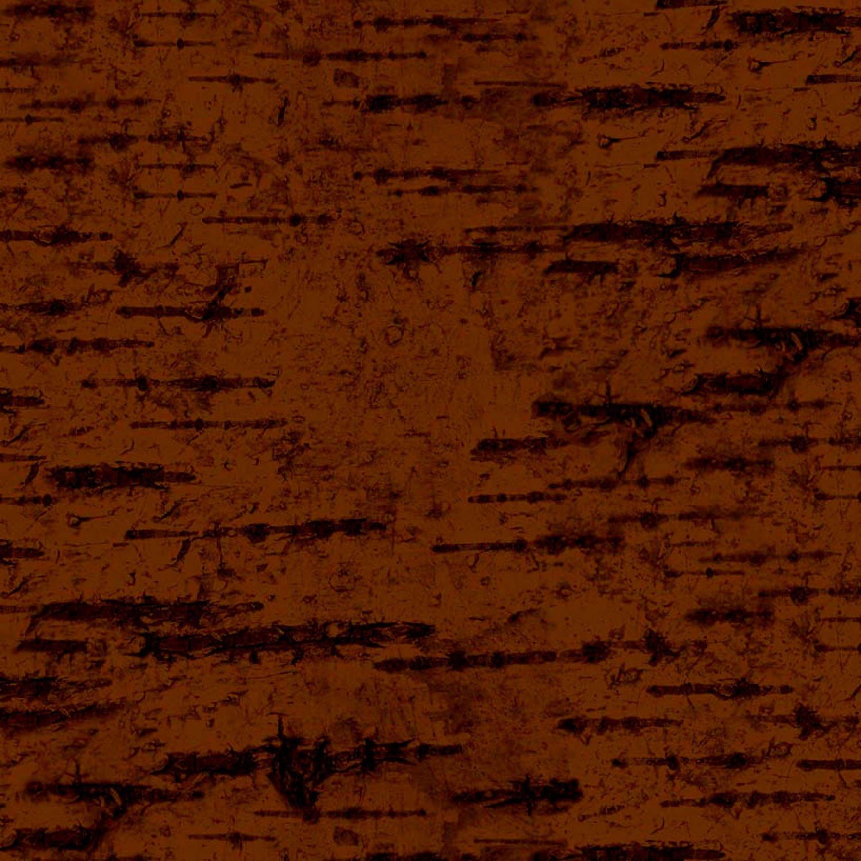 Majestic Outdoors Dark Brown Birck Bark Penny Rose Fabric