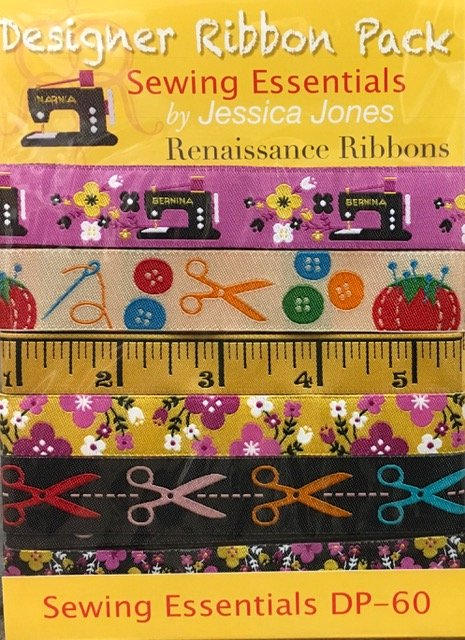 Ribbon Pack Sewing Essentials Renaissance Ribbons