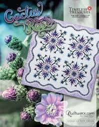 Cactus Rose Pattern Judy Niemeyer