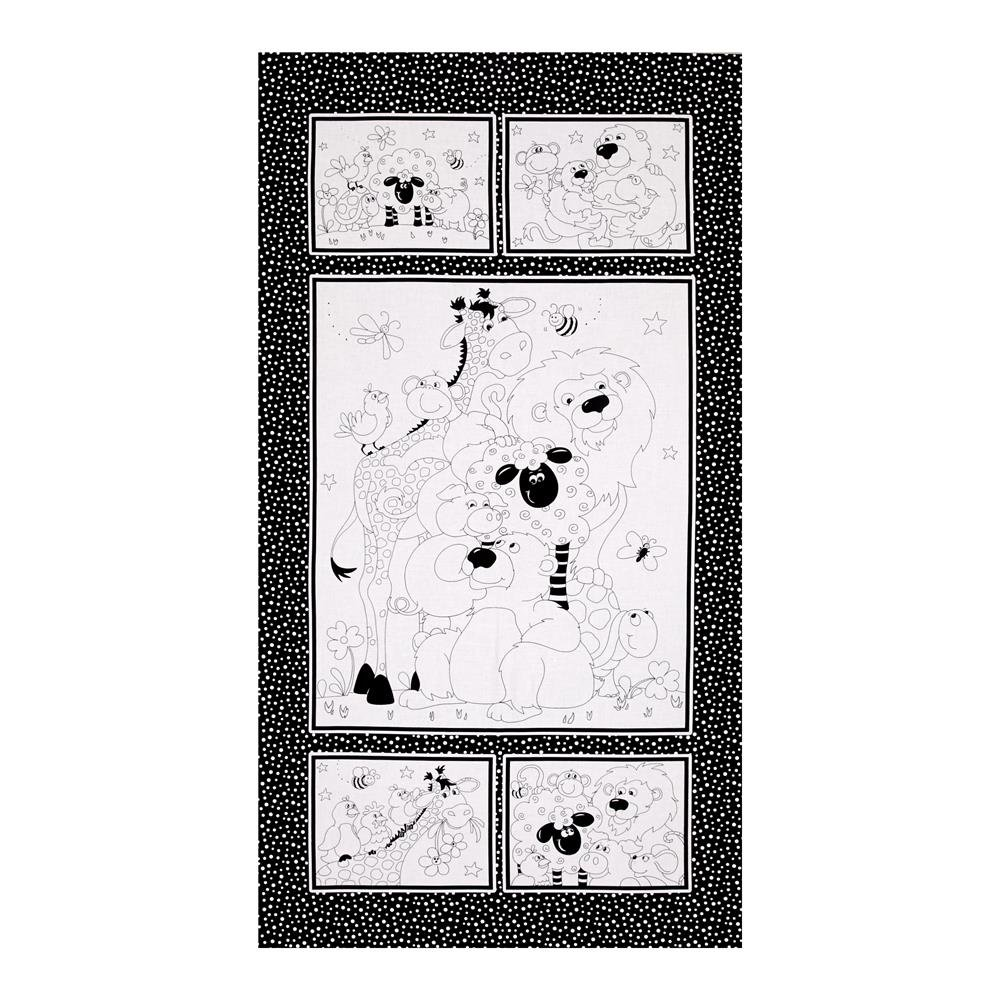 Color Me Quilt Panel /  Susybee