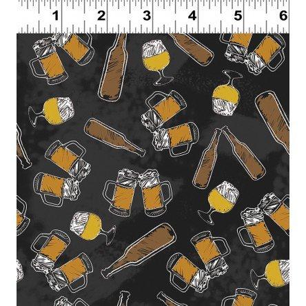 Clothworks Pub Crawl Mugs on Black