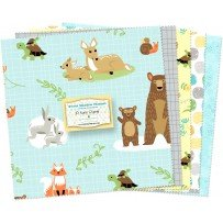 10 Square Sweet Meadow Flannel