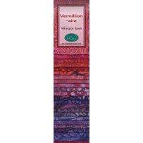 2 1/2 Strips Vermillion-aire Wilimgton Jewels