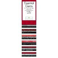 2 1/2 Strips  #1 Fan redblack white