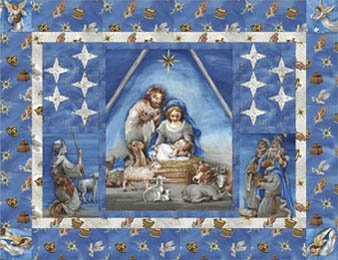Starry Night Nativity Kit