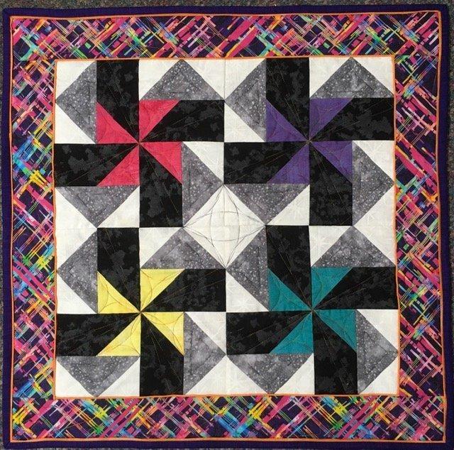 A Quilters Trek 2021 Precut Block Kit Secondary Colors $17.99