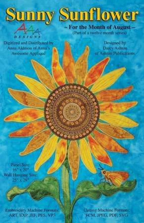Sunny Sunflower - Aug